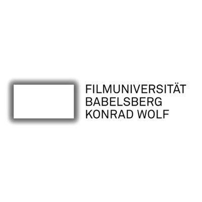 filmuni konrad wolf babelsberg logo