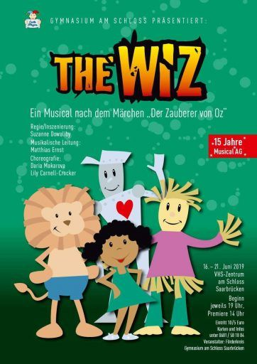 the wiz Musical Blechmann